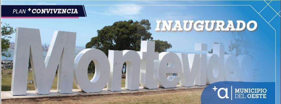 Inauguración de la palabra Montevideo en la Fortaleza