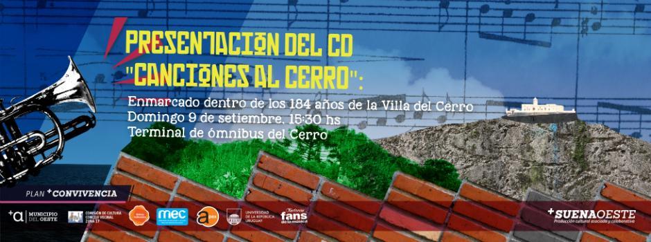 """Presentación del CD """"Canciones al Cerro"""""""