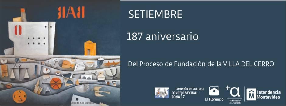 187 años del Proceso Fundacional de la Villa del Cerro.